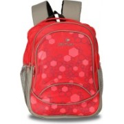CENTURY Fashionable Red Color Large Polyester Backpack Bag Backpack(Red, 27 L)