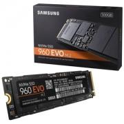 SSD Samsung 960 EVO NVMe 500GB M.2 PCIe 3.0 x4, MZ-V6E500BW
