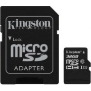 Kingston Canvas Select 32 GB SDHC Class 10 80 Mbps Memory Card(With Adapter)