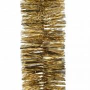 Merkloos 3x Kerstboom folie slinger goud 270 cm