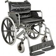 sedia a rotelle / carrozzina pieghevole extra large - seduta 56cm