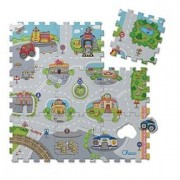 Chicco Ch Toy Puzzle Mat City