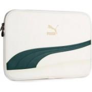 Puma 15 inch Laptop Messenger Bag(White)