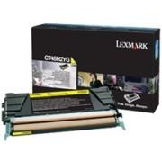 Cartus Toner Yellow C748H2Yg 10K Original Lexmark C748De