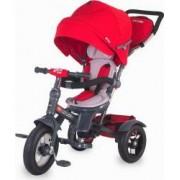 Tricicleta COCCOLLE Giro Plus Multifuntionala, Rosu