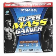 Dymatize Super Mass Gainer Rich Chocolate 12 Lb