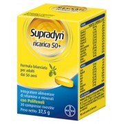 Bayer Spa Supradyn Ricarica Vital Age 50+ Integratore Alimentare 30 Compresse Rivestite