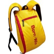 Bloomun Sports Gym Yellow Red Backpack(Multicolor, 15 L)
