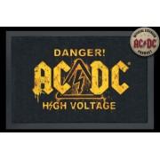 essuie-pieds AC / DC - Danger - ROCKBITES - 100824