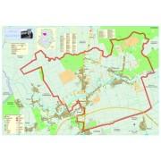 Harta Comunei Balotesti IF - sipci de lemn