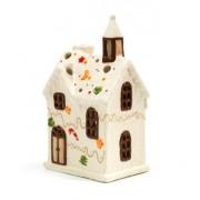Casetta porta candela GRANDE - fantasia Cioccolata