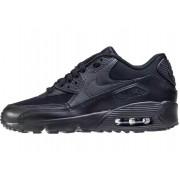 Nike Air Max 90 Gs Kids Trainers In Black Black Black
