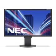 NEC MultiSync EA224WMi black 21.5' LCD monitor with LED backlight, IPS panel, resolution 1920x1080, VGA, DVI, DisplayPort, HDMI, speakers, 130 mm height adjustable