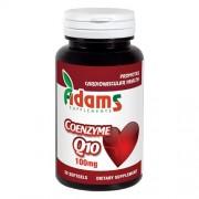 Coenzima Q10 100mg 30cps. Adams Supplements