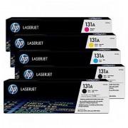 HP 131A SET LaserJet Toner Cartridge (CMYKK) SET-HP-131A
