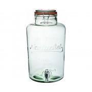 Limonádés üveg csappal 8,5L