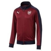 Arsenal Track Top T7 Fan - Rood/Navy