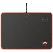 Mousepad Gaming cu incarcare wireless QI Trust GXT 750 Qlide, iluminare RGB (Negru)