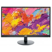 "AOC E2470SWH - Monitor LED - 23.6"" (23.6"" visível) - 1920 x 1080 Full HD (1080p) - TN - 250 cd/m² - 1000:1 - 1 ms - HDMI, DVI,"