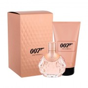 James Bond 007 James Bond 007 For Women II confezione regalo eau de parfum 50 ml + lozione corpo 150 ml per donna