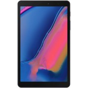 "Tableta Samsung Galaxy Tab A 8 P205 (2019), Procesor Octa Core 1.6GHz, Ecran IPS Capacitive multitouch 8"", 3GB RAM, 32GB Flash, 8MP, Wi-Fi, 4G, Bluetooth, Android (Negru) + Manusi Touchscreen (Gri)"