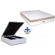 Conjunto Box-Colchão Pocket Astro+Cama Box Baú - King 193