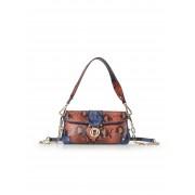 Aigner Dames Tasje Lori van tweekleurig rundleer Van Aigner multicolour