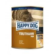 Happy Dog Truthahn Pur - Conservă cu carne de curcan 6 x 800 g