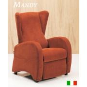 Poltrona Relax Manuale Mod Mandy Prodotto Italiano