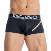 Gigo MARIAGE BLACK Short Boxer Underwear G02112