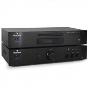 Auna Elegance Tower 2.0 HiFi Set CD-Player USB 600W Stereo-Cinch digital-out