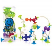 Joc de constructie Squigz Flexi Set Fat Brain Toys