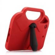 Slips-fodral / iPad-portfölj för iPad Mini 4 / 3 / 2 / 1 med hållare – Rött / Svart