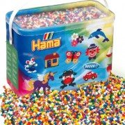 Hama Beads - 30,000 MIDI Iron Beads. Size 5mm.