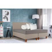 Set Bedora Dormitor Starter Bej 140x200 cm