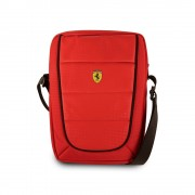 Ferrari Scuderia Tablet Bag - дизайнерска чанта с презрамка таблети до 10 инча (червен)