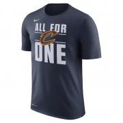 Tee-shirt de NBA Cleveland Cavaliers Nike Dry pour Homme - Bleu