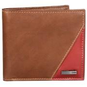 Storm Pentru bărbați din piele portofel Flash Leather Wallet Brown/rust STABY85