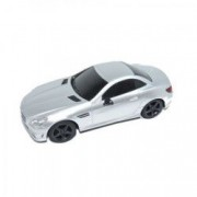 Masinuta cu radio-comanda Mercedes Benz SLK 350 scara 1 24 4 directii argintiu
