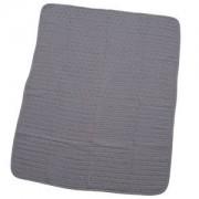 rattstart Waffle Blanket in Grey