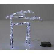 電池式3Dクリスタルモチーフ トナカイ