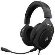 Corsair HS50 Auscultadores Gaming USB PC Verde