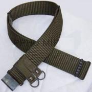 Pas polowy mundurowy wojskowy, oliwkowy