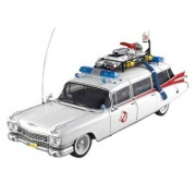 """1959 Cadillac Ambulance Ecto 1 From """"Ghostbusters 1"""" Movie 1/18 By Hotwheels Bcj75"""