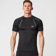 Myprotein Strike Football T-Shirt - L - Black