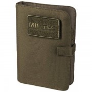 Mil-Tec Tactical Notebook small oliv