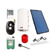Solární systém s montáží a uvedením do provozu!! - 1x kolektor, nádrž 120 litrů