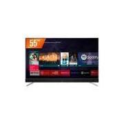 "Smart Tv LED 55"" ultra HD 4k TCL 55C2US, Hdmi, USB, Android TV, Wifi integrado e Conversor Digital"