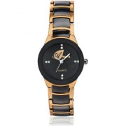 Arum Black Dial Womens Analog Watch AW-0047