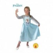 Rochita Elsa M clasic pentru fetite - Disney Frozen